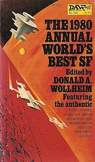 <i>The 1980 Annual Worlds Best SF</i> book by Donald A. Wollheim