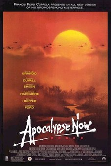 2001 extended version of Apocalypse Now directed by Francis Ford Coppola