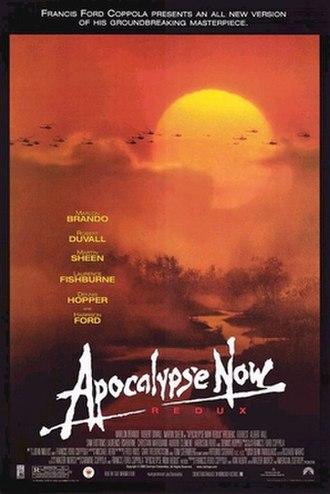 Apocalypse Now Redux - UK DVD cover