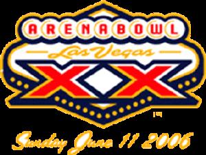 ArenaBowl XX - Image: Arena Bowl XX