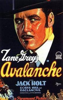 Avalanche 1928 Film Wikipedia