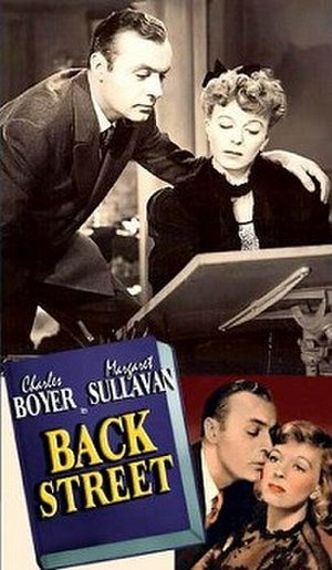 Back Street (1941 film) - Theatrical release poster