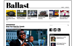 Ballast (website) Canadian news websites