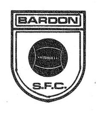 Bardon Latrobe FC - Bardon SFC badge (ca 1960s)