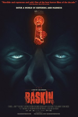 Baskin (film) - Theatrical release poster