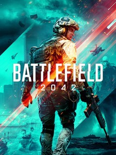 <i>Battlefield 2042</i> First-person shooter game