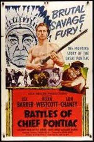 Battles of Chief Pontiac - Theatrical release poster