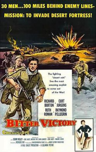 Bitter Victory - Original US film poster