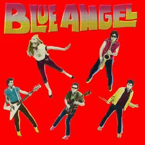 Blue Angel (Blue Angel album) - Image: Blue Angel Album Cover