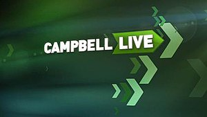 Campbell Live - Show's title card (2013)