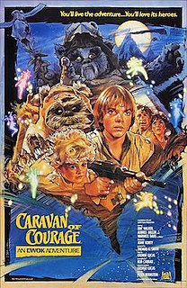 <i>Caravan of Courage: An Ewok Adventure</i> 1984 TV film directed by John Korty