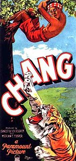 <i>Chang: A Drama of the Wilderness</i> 1927 film by Merian C. Cooper, Ernest B. Schoedsack
