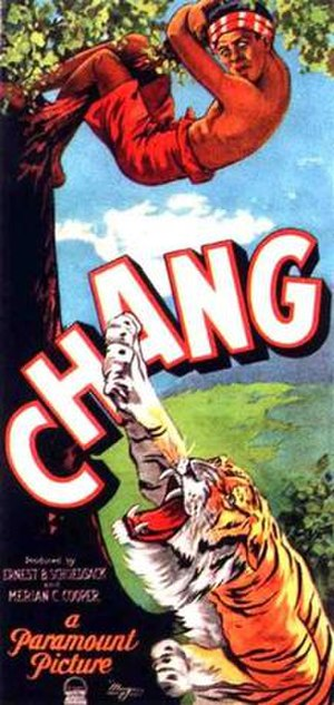 Chang: A Drama of the Wilderness - Image: Chang poster
