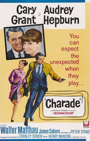 Charade (1963 film) - original film poster
