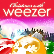 Image result for christmas with weezer album cover
