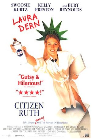 Citizen Ruth - Original film poster