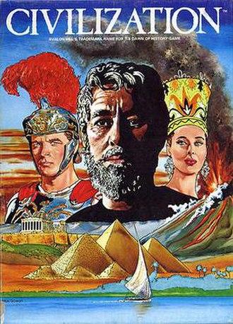 Civilization (1980 board game) - Civilization box cover