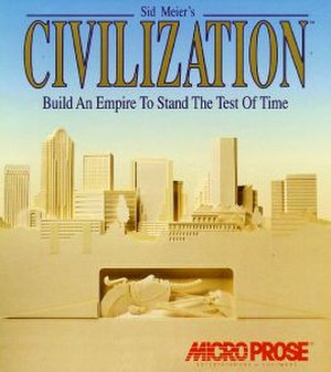 Civilization (video game) - Civilization box art