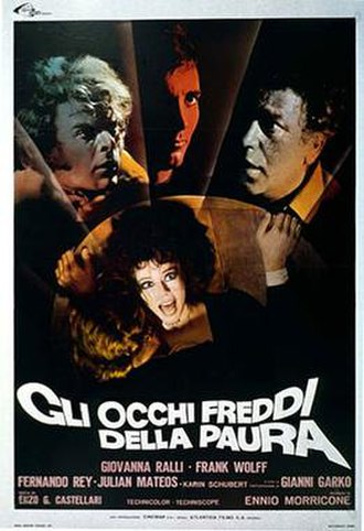 Cold Eyes of Fear - Italian film poster for Cold Eyes of Fear