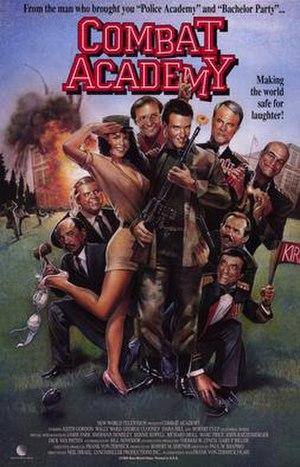 Combat Academy - DVD cover of Combat Academy