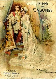 <i>King of Cadonia</i> musical