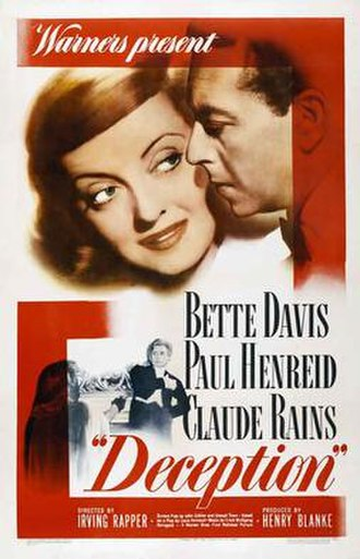Deception (1946 film) - Theatrical release poster