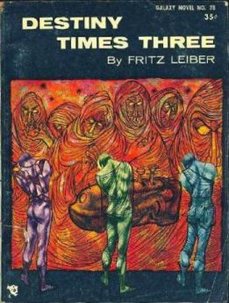 Destiny Times Three - Cover of the first edition