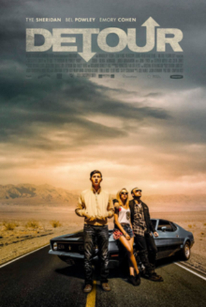 Detour (2016 film) - Theatrical release poster