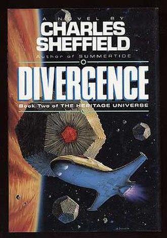 Divergence (novel) - Cover of Divergence, art by Bruce Jensen.