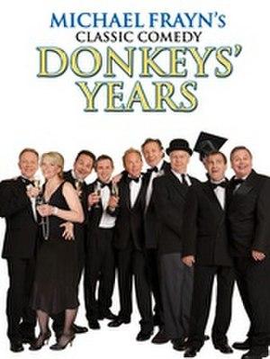 Donkeys' Years - Image: Donkeys' Years poster