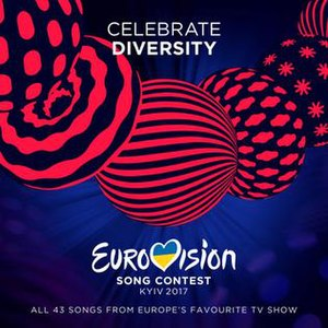 Eurovision Song Contest 2017 - Image: ESC 2017 album cover