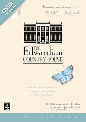 The Edwardian Country House - DVD/VHS cover under the British title The Edwardian Country House