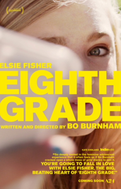 Picture of a movie: Eighth Grade