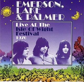 <i>Live at the Isle of Wight Festival 1970</i> (Emerson, Lake & Palmer album) live album