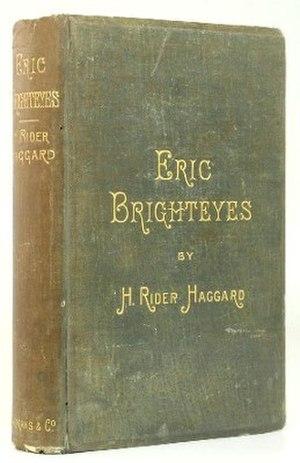 Eric Brighteyes - First edition (publ. Longman)