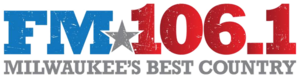 WMIL-FM - Image: FM106.1 WMIL FM logo