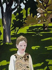 Fairfield Porters Gemälde 'Under the Elms', 1971 - 1972.jpg