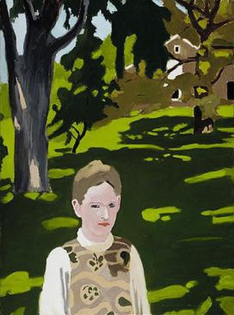Fairfield Porter - Under the Elms, 1971–1972