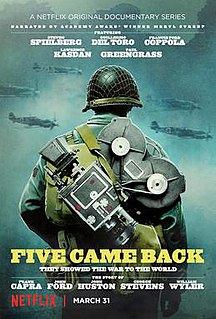 <i>Five Came Back</i> (TV series) US television program