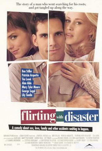 Flirting with Disaster (film) - Theatrical release poster