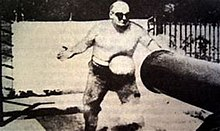 "Frank ""Cannonball"" Richards shot in stomach with cannonball.jpg"