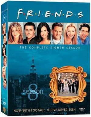Friends (season 8) - Image: Friends Season 8 DVD