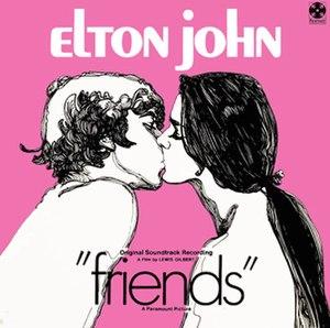 Friends (film soundtrack) - Image: Friendsalbum