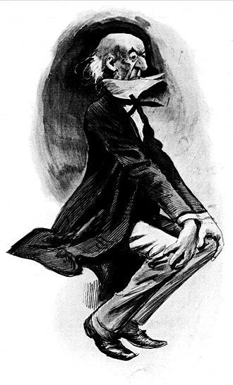 Harry Furniss - Furniss's caricature of William Ewart Gladstone