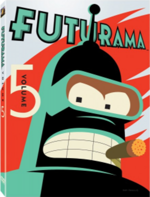 Futurama (season 6) - Image: Futurama Volume 5