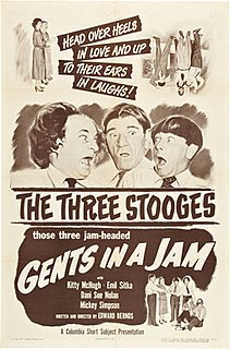 <i>Gents in a Jam</i> 1952 film by Edward Bernds