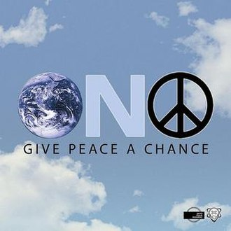 Give Peace a Chance - Image: Give Peace a Chance (2008 Remixes) (cover art)