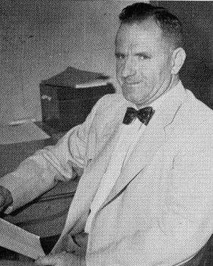 Guy B. Gardner - Gardner pictured in The Lasso 1955, Howard Payne yearbook