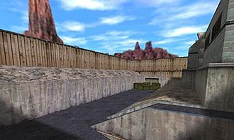 """Black Mesa (video game) - The """"Surface Tension"""" chapter as it appears in Half-Life"""