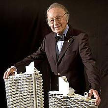 Harry Seidler with model.jpg